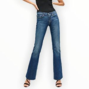 7 For All Mankind Carol Bootcut Jeans Size 27